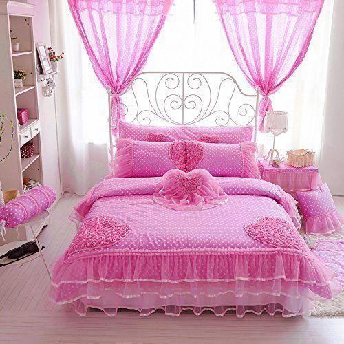 ผ้าม่านห้องนอน ชมพู