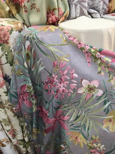 ผ้าม่านลายดอกไม้สวยๆ